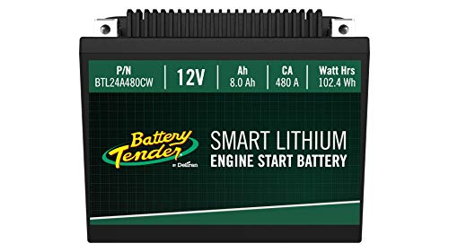 Supersmart BMS Lithium Battery, 12V 8.0AH, 480CCA
