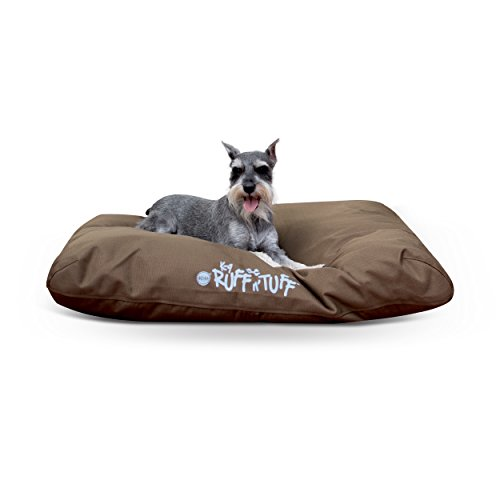 K&H Pet Products K-9 Ruff n' Tuff Pet Bed Medium Chocolate 27' x 36'