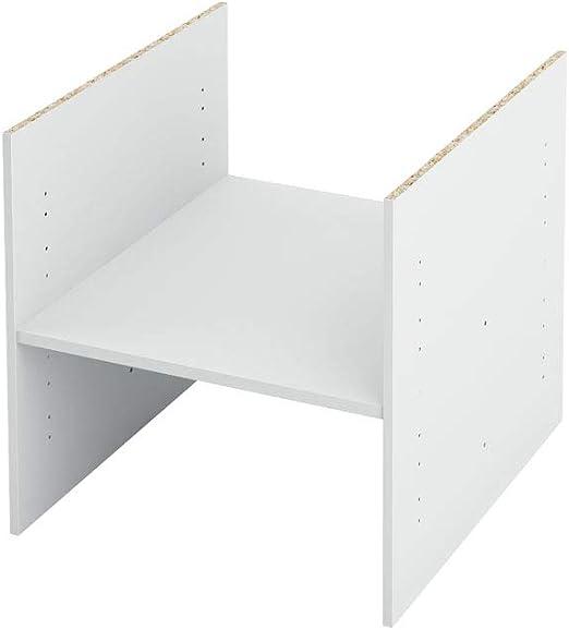 IKEA KALLAX Einlage mit 1 Ablage 33x33 cm wei/ß