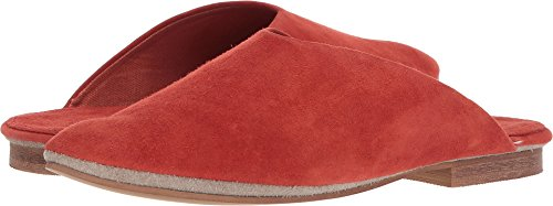 Musse&Cloud Womens Smoothy Suede Red-orange