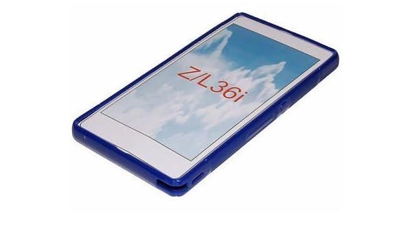 CNP-Funda para Sony Xperia Z carcasa azul: Amazon.es ...