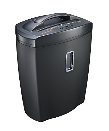Bonsaii DocShred C156-C 8-Sheet Micro-Cut Paper/CD/Credit Card Shredder, Overload and Thermal Protection, 5.5