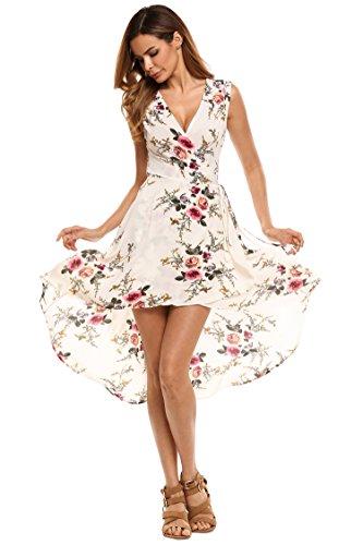White Floral Dress - 7