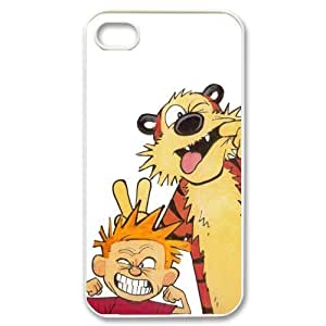 Custom Your Own Calvin And Hobbes iPhone 4/4S Case , personalised Calvin And Hobbes Iphone 4 Cover
