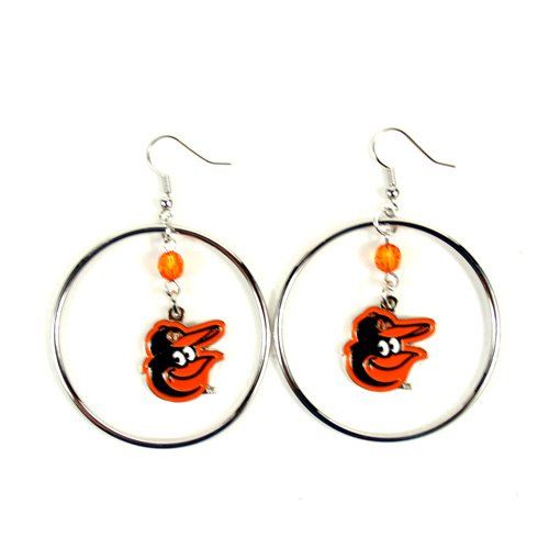 MLB Baltimore Orioles Color Bead Hoop ()