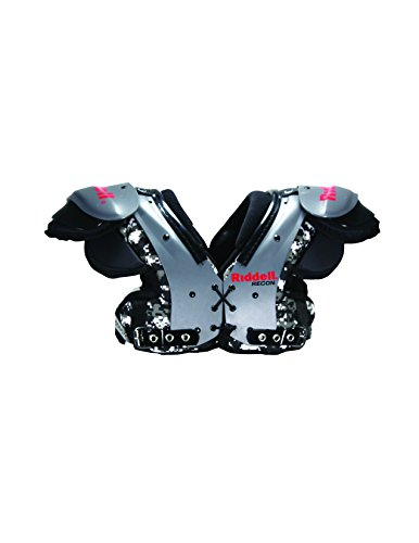 Riddell Youth Recon Football Shoulder Pa - Flat Football Shoulder Pads Shopping Results