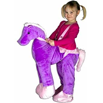 Purple Horse Rider Toddler Halloween Costume 3T-4T