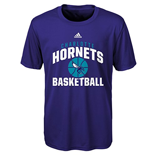 fan products of NBA Rep Big Performance Short Sleeve Tee-Hornets Teal-M(10-12), Charlotte Hornets