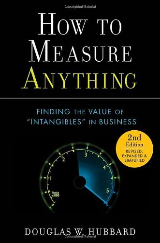 Download By Douglas W. Hubbard: How to Measure Anything: Finding the Value of Intangibles in Business Second (2nd) Edition PDF