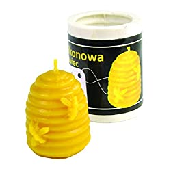 Small Skep Beeswax Candle Mold