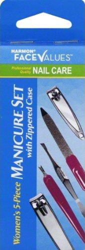 5 Piece Manicure Set with Zippered Case