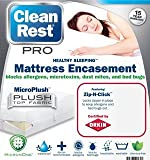 CleanRest Pro Waterproof, Allergy and Bed Bug Blocking Mattress Encasement, California King