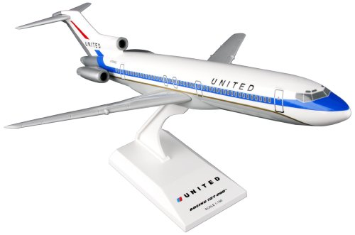 (Daron Skymarks United B727-200 Delivery Colors Airplane Model Building Kit 1/150-Scale)