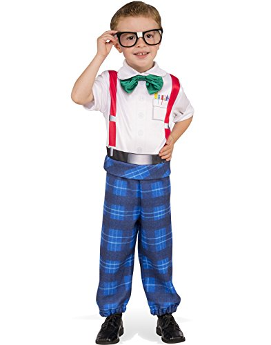 Rubies Costume Child's Nerd Boy Costume, Medium, - For Nerd Glasses Guys