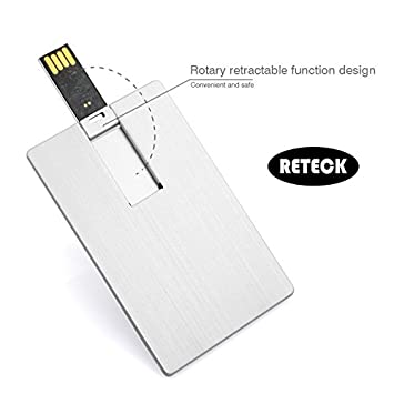 Business Gifts Ultra Thin Credit Card Aluminium Alloy 16gb Usb 20