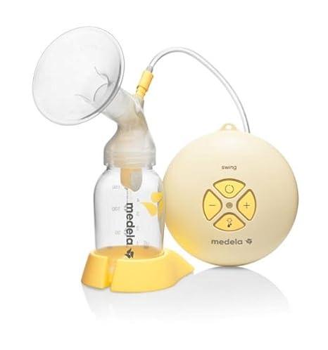 Medela Swing - Extractor de leche eléctrico con tecnología de 2 fases y sistema de alimentación Calma incluido