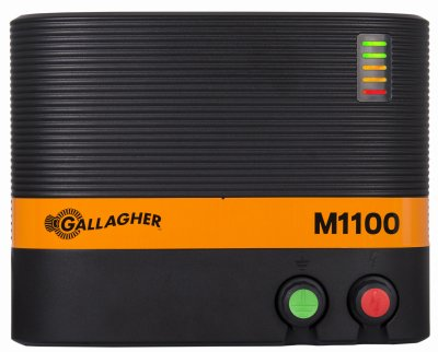 Gallagher G324504 Electric Fence Energizer M1100, 11 Joule, 110 Miles/650 Acre by Gallagher