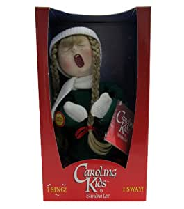 Caroling Kids Animated Holiday Singing Christmas Doll by Sandra Lee