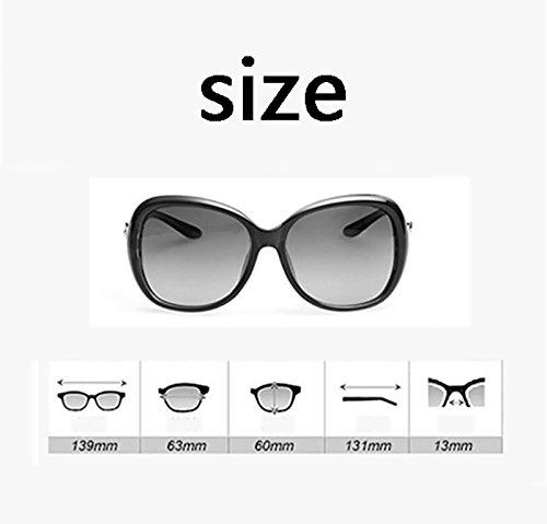 de Color Del Aire UV Anti sol BSNOWF Polarizadas Sombra Al Gafas Protección Gafas Femeninas Purple Viaje Fundamentos Ocular Libre Deportes UdnzaxU