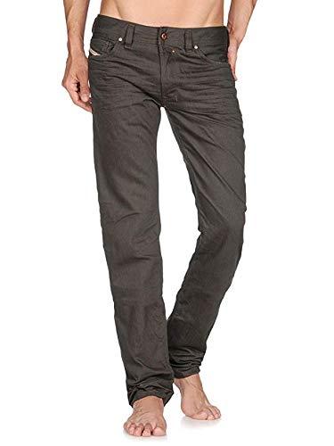 55ee1fc0 Diesel Mens Safado 00C03G Jeans Regular Slim 008QU Grey Size 28W32L: Amazon. co.uk: Clothing