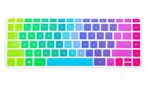 iKammo Keyboard Cover Skin Compatible HP Stream 14-ax HP Pavilion 14-ab 14-ac 14-ad 14-al 14-an,HP Envy 14-j0 Series,14-ab010 14-ab166us 14-ac159nr 14-an010nr 14-an013nr - Skin Hp Stream