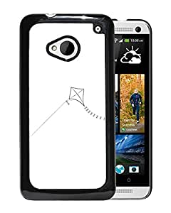 White Kite Durable High Quality HTC ONE M7 Phone Case