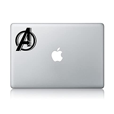 - 41AtKNc3eDL - Avengers Logo Macbook Decal Apple MacbookLaptop Vinyl Sticker Decal