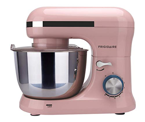 FRIGIDAIRE ESTM020-PINK 4.5L Retro Stand Mixer (Pink), 4.75 quart