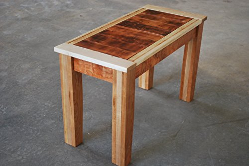 Burnt Cherry Accent Table