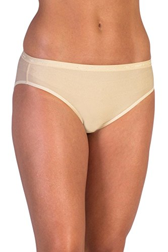 ExOfficio Women's Give-N-Go Bikini Brief - Large - Nude