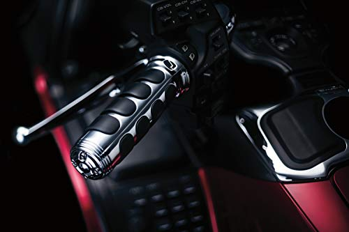 - Kuryakyn 6180 Premium ISO Handlebar Grips for Throttle and Clutch: 1975-2017 Honda Gold Wing Motorcycles, Chrome, 1 Pair