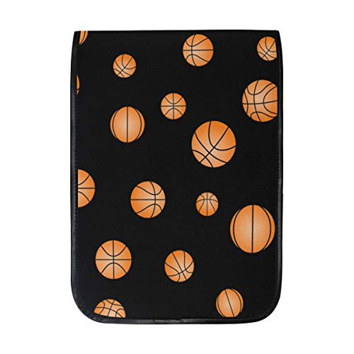12 Inch Ipad IPad Pro Laptop Sleeve Canvas Notebook Tablet Pouch Cover for Homeschool, Travel, Etc Black OYO Basketball