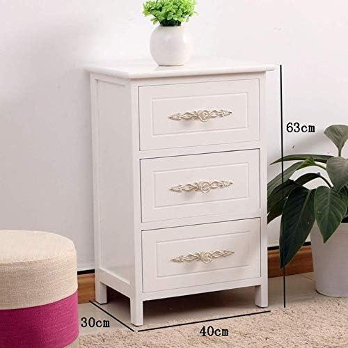 安定した ソリッドウッドベッドサイドテーブルベッドサイドサイドテーブルは簡単で、耐久性と実用的なシェイプ ファッション (Size : 40×30×63cm)