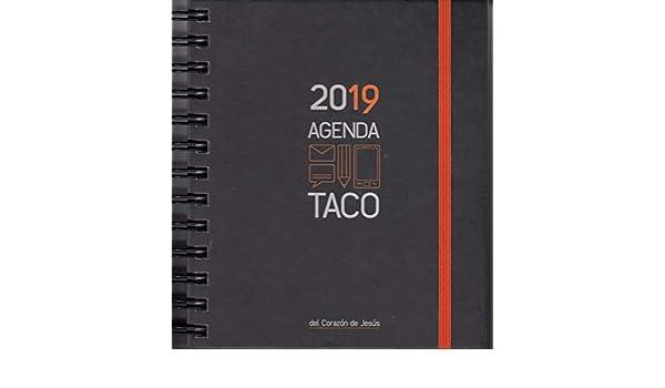 Agenda Taco Sagrado Corazón de Jesús 2019. Naranja ...