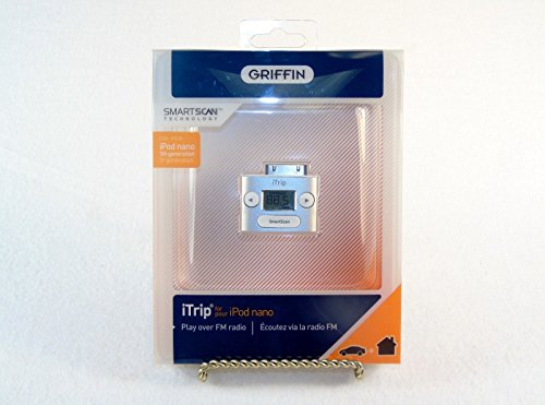 Griffin Itrip Iphone - Griffin iTrip Wireless FM Transmitter for iPod, iPod Nano, or iPhone.