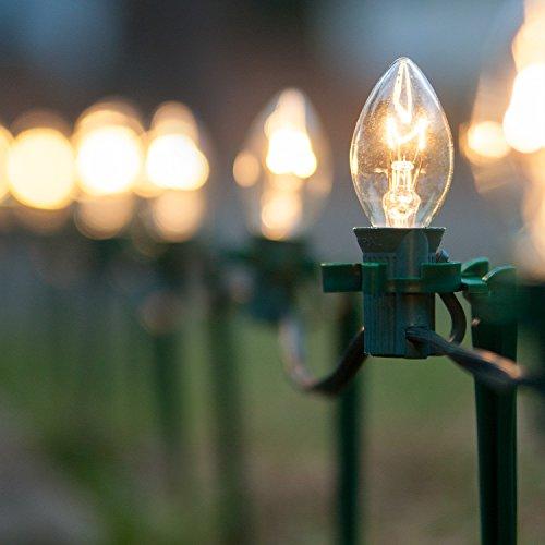 Christmas Bulb Pathway Lights