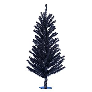 "Kurt Adler 18"" Black Mini Christmas Tree 20"