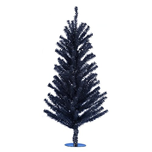 Kurt Adler 18'' Black Mini Christmas Tree