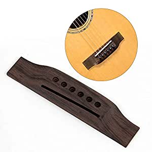 1piece saddle thru acoustic guitar bridge. Black Bedroom Furniture Sets. Home Design Ideas