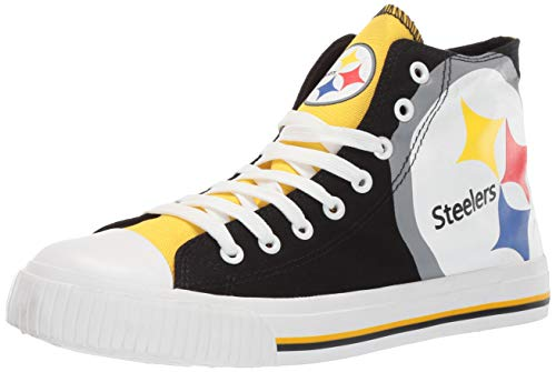Pittsburgh Steelers Shoe - FOCO NFL Mens High Top