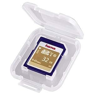 Hama SD-Card Box - Funda para tarjetas de memoria, transparente