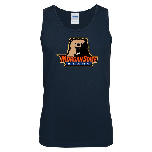 Morgan State Navy Tank Top Morgan State Bears w//Bear