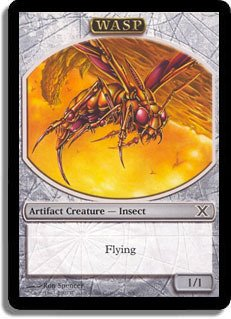(Magic: the Gathering - Wasp Token (6/6) - Tenth Edition)