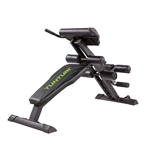 Tunturi CT80 Rugtrainer – Hyperextensie bank – Roman Chair – Buiktrainer – Slant Board – Buikspierbank