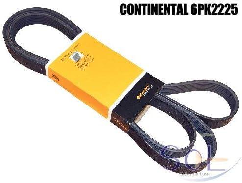 ベンツ W202 W210 W140 X204 ファンベルト(Vベルト) 6PK2225 CONTINENTAL C280 E320 S280 S320 GLK350 0109978892 0029930896