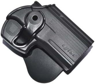 NOGA Negro Tactical Funda de pistola para ajuste cinturón para todos los la mayoría de pistola