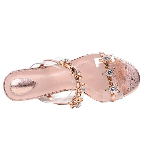 Femme JYshoes Or JYshoes Mules Femme Femme Mules Or Mules JYshoes Or xwgxzq1f