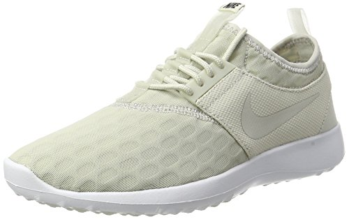 NIKE Women's Juvenate Sneaker, Light Bone/Light Bone/Black/White, 7.5 B(M) US (Footwear Bone Light)