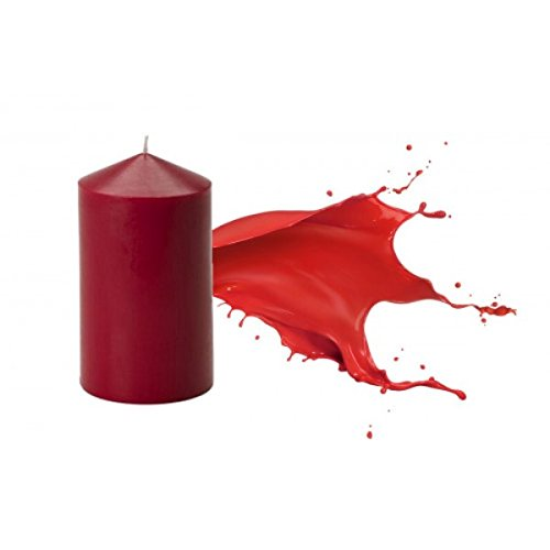 Candle Making Liquid Dyes specificaly created to uses in waxes including soy (Red)
