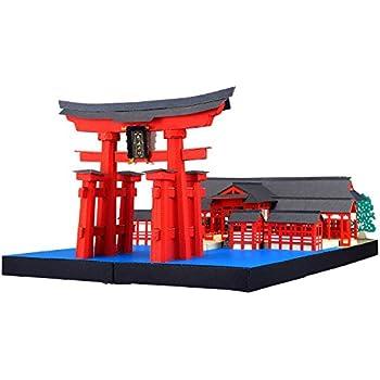 Paper Nano Itsukushima Shrine Deluxe Building Set